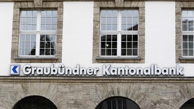 Der Sitz der Graubündner Kantonalbank in Chur, von wo aus viele Fäden für die Zürcher Private-Ba