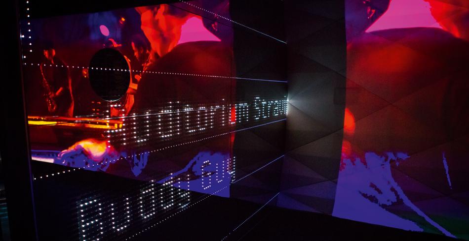 Das Montreux Heritage Lab V2, ein öffentliches Studio, das erlaubt, fast physisch in die Konzerte a