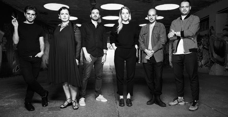 Von links nach rechts: Quentin Mouron, Valentina Brugnatelli, Raoul Pagès, Louisa Gagliardi, Jean-V