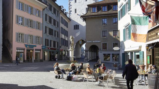 Die Altstadt von Baden. Die Gemeinde im Aargau hat sich die Loanboox-Plattform bereits zunutze gemac