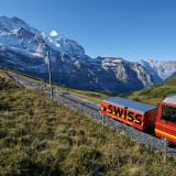 Jungfraubahn ist auf Rekordkurs