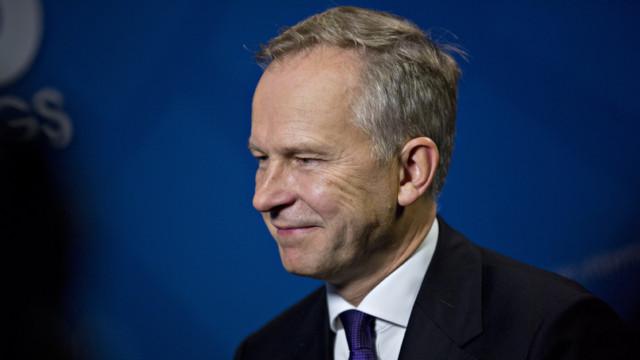 Der lettische Notenbank-Chef Ilmars Rimsevics soll eine Bestechungssumme von mindestens 100'000