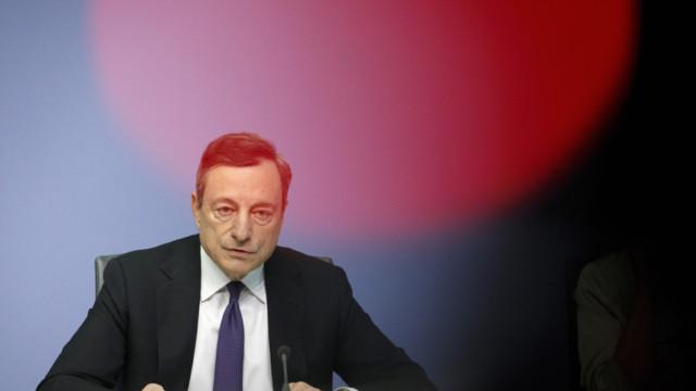 Mario Draghi: «Wir müssen einräumen, dass die Bankenunion und die Kapitalmarktunion noch nicht vo