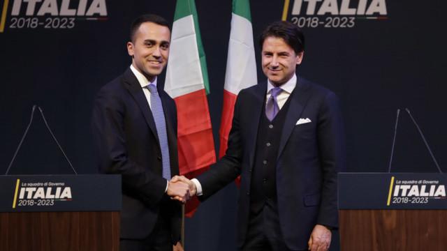 Die künftige italienische Regierung treibt den Anlegern Schweiss auf die Stirn: Luigi Di Maio, Chef