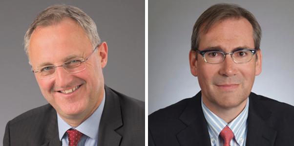 Matthias Huenerwadel (links) und Daniel Frutig sollen Zehnder Group vorwärtsbringen.