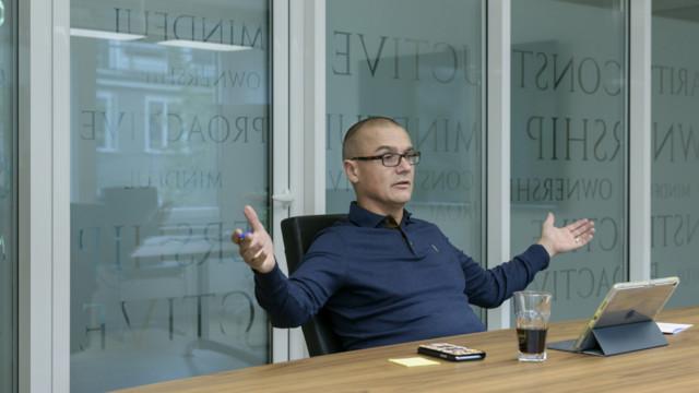 Veraison-Mitgründer Gregor Greber: «Ein Aktivist fordert. Wir aber bringen Vorschläge.»