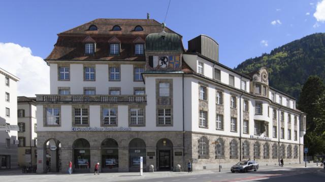 Hauptsitz der Bündner Kantonalbank in Chur.