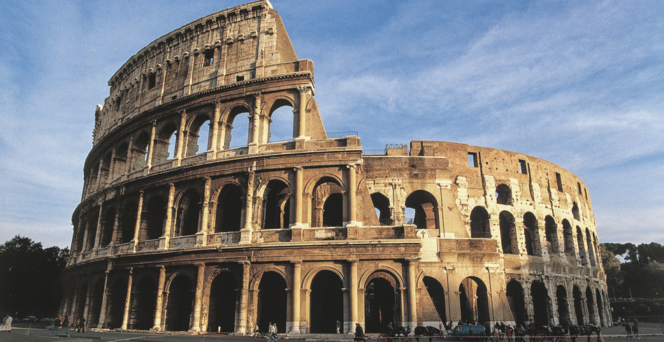 Das Amphitheatrum Novum – eine der imposantesten Bauten des antiken Rom.