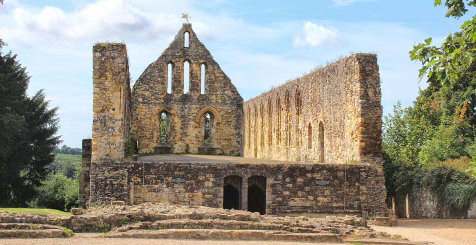 Ruinen der Battle Abbey: Wo die Normannen einst die Angelsachsen schlugen.