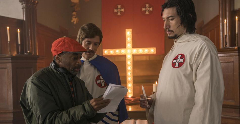 Spike Lee, hier am Set von «BlacKkKlansman», könnte den Oscar für die Kategorie «Beste Regie»