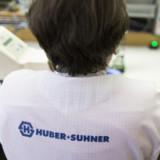 Huber+Suhner kann aufdrehen