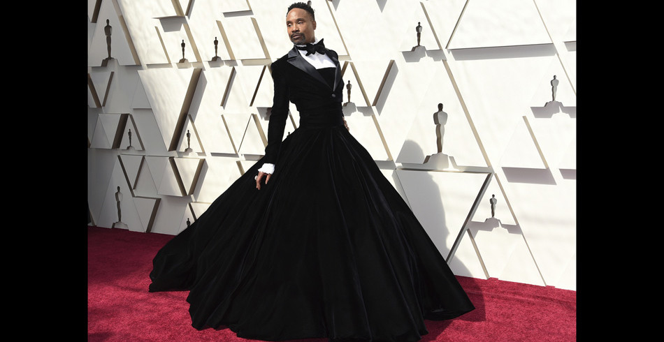 Gesellschaft: Billy Porters Oscar-Outfit war ein wahrer Blickfang. Der preisgekrönte Schauspieler