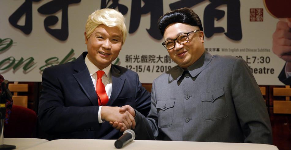 Politik: Kim Jong Un und Donald Trump haben sich diese Woche wieder getroffen. Doch so glücklich wi
