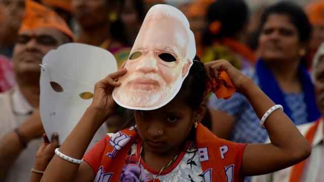 Die Investoren erhoffen sich einen Wahlsieg von Premierminister Narendra Modi.