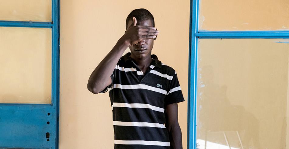 Mohamed Kongou, ehemaliges Mitglied von Boko Haram  1. Preis in der Kategorie «Ausland Reportage�