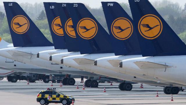 Lufthansa dampft Gewinnprognose ein, Aktie gibt deutlich nach.
