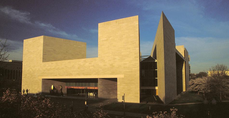 Für einen weiteren Erweiterungsbau war Pei in Washington zuständig. Die National Gallery of Art in
