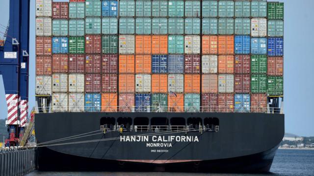 Die Aktienmärkte sind während deneskalierenden chinesisch-amerikanischen Handelsstreits auf den
