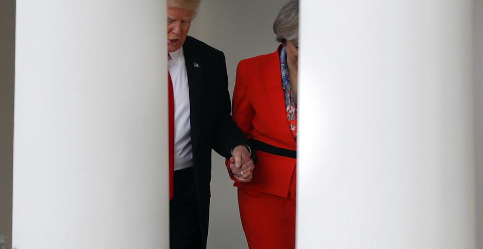 Entschlossen zu zeigen, dass Grossbritannien mit ihr eine neue globale Rolle einnehmen wird, war sie