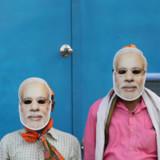 Modi auf dem Weg zum Erdrutschsieg