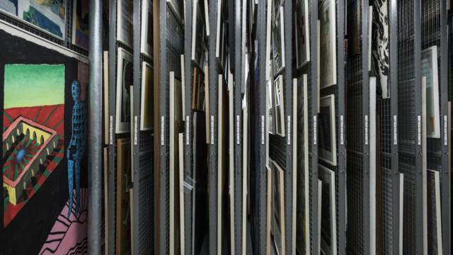 Wer kostbare Kunstgegenstände lagert oder ausstellt, will den Wert versichert wissen: eine der Spez
