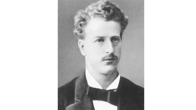 August Burckhardt 1876.