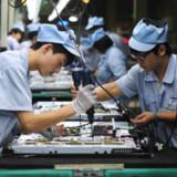 Chinas Produktion schwächelt