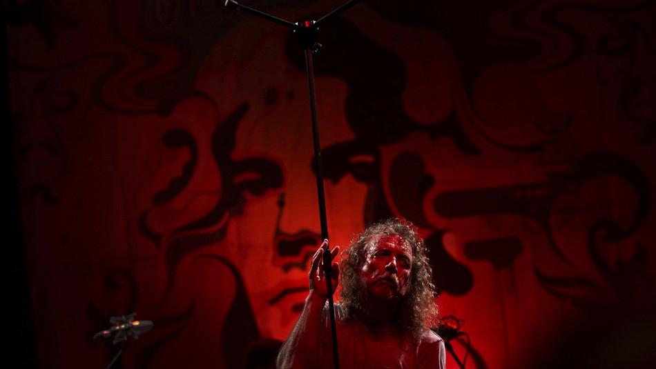 Jimmy Page, Frontman der legendären Rock-Gruppe Led Zeppelin. Die Inspiration zum 1969 erschienenen
