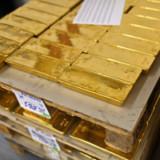 Gold knackt Marke von 1400 $