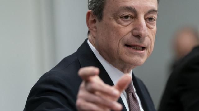 Draghi schliesst auch erneute Käufe von Staatsanleihen nicht aus.