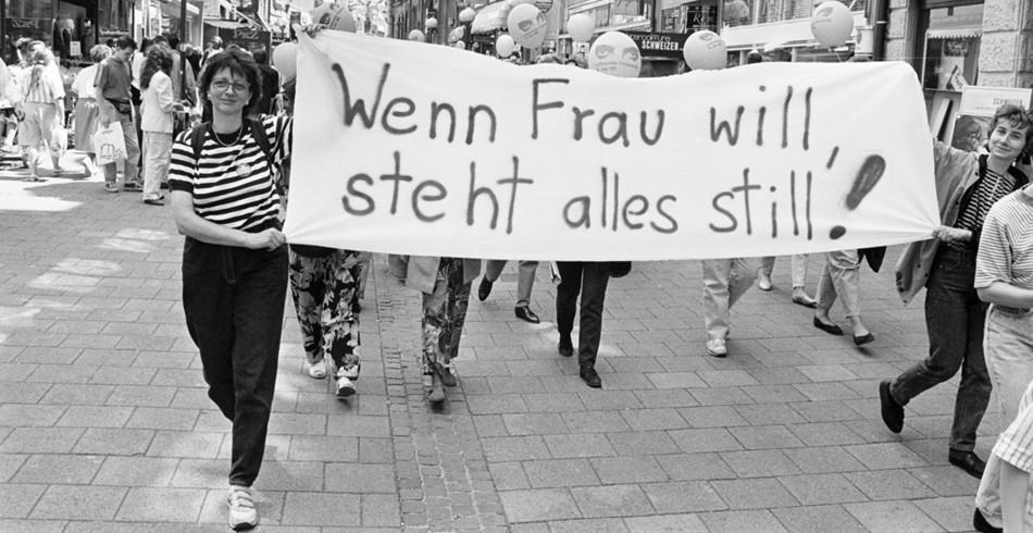 Vor über einem Vierteljahrhundert fand der erste Schweizer Frauenstreik statt. Damals, am 14. Juni