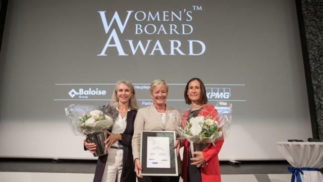 Ingrid Deltenre (Mitte) ist Verwaltungsrätin bei Givaudan, BCV, Sunrise, Deutsche Post DHL und Agen